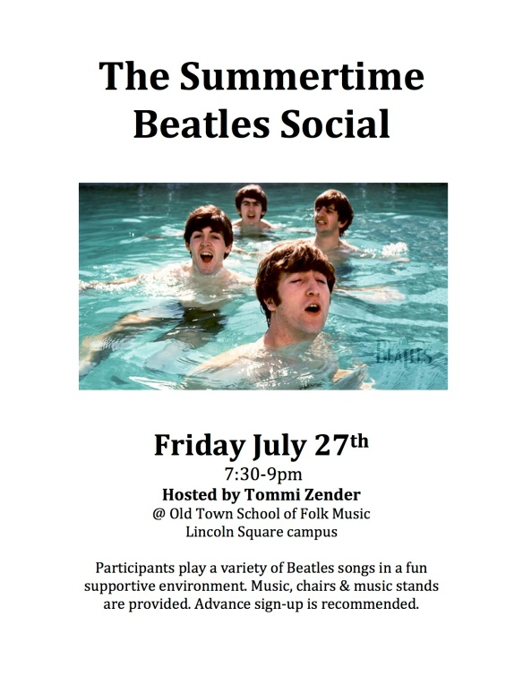 Summertime Beatles Social